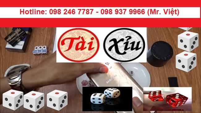 Bán dụng cụ tài xỉu tại Hà Nội giá rẻ